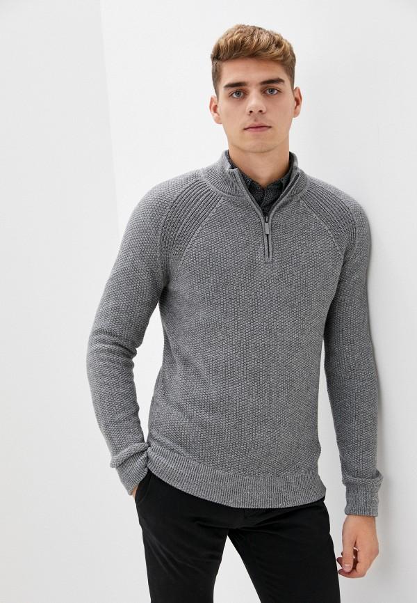мужской свитер strellson, серый