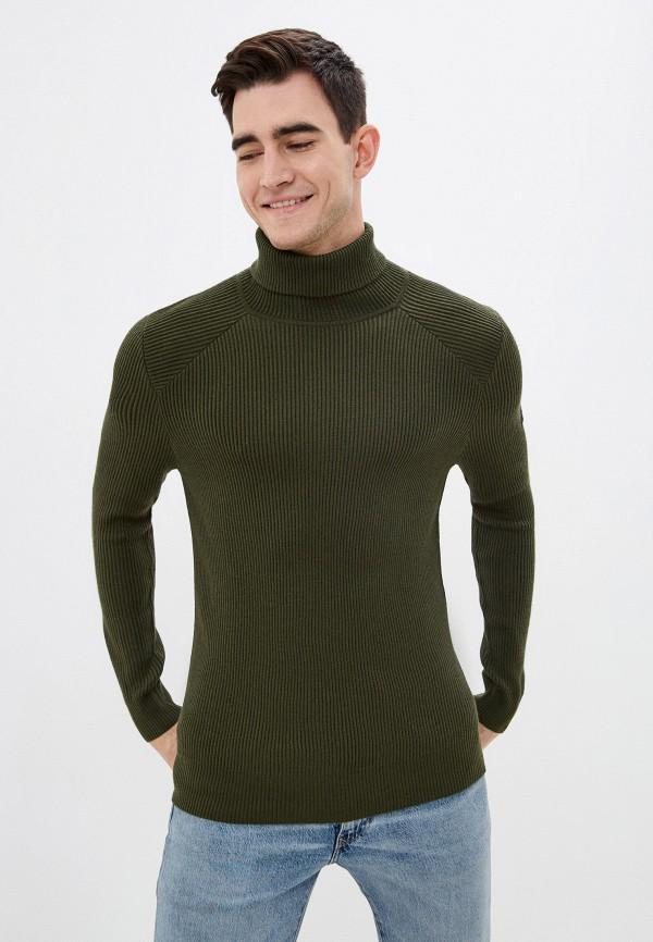 мужской свитер strellson, зеленый
