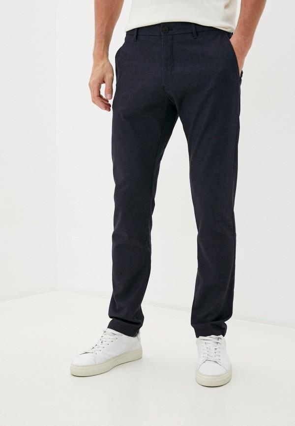 мужские брюки чинос strellson, синие