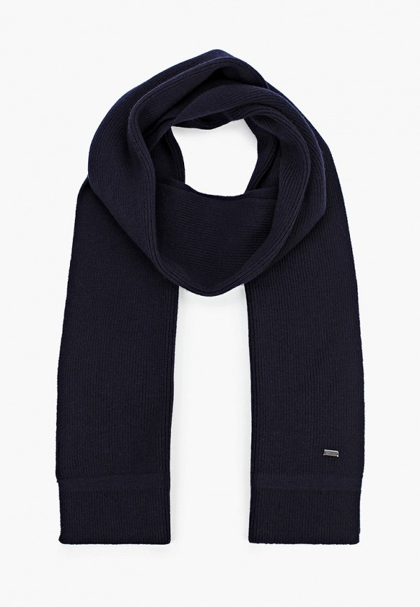 мужской шарф strellson, синий
