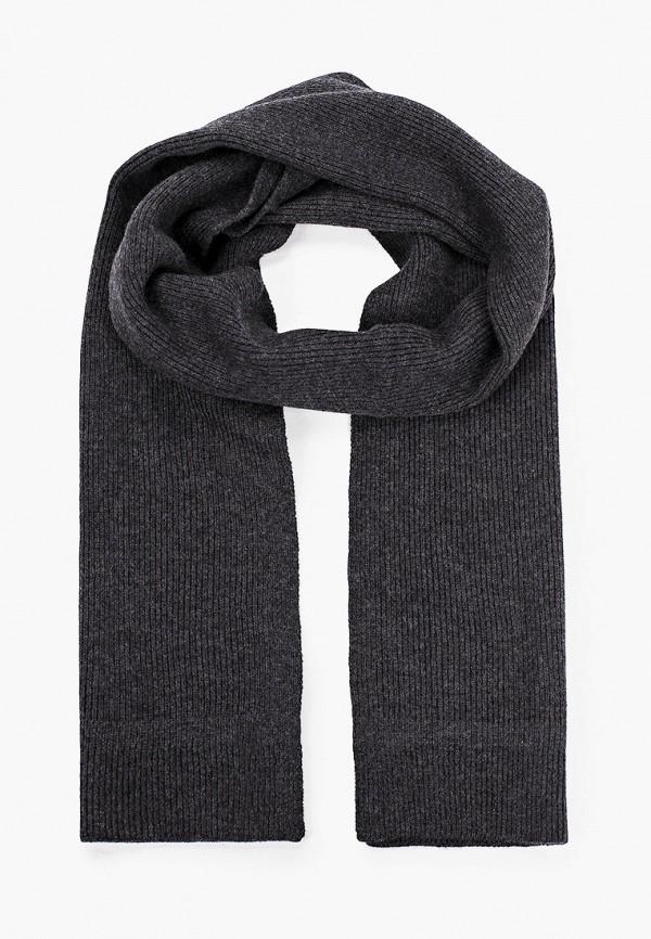 мужской шарф strellson, серый