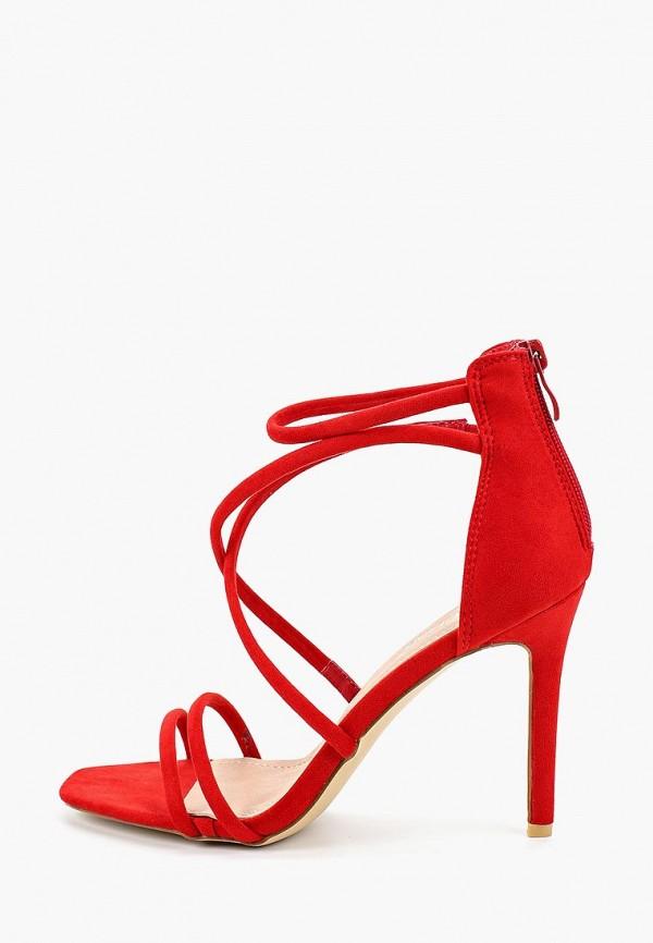 женские босоножки stephan, красные