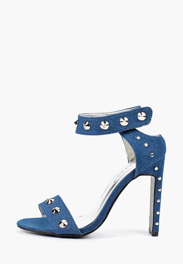 женские босоножки stephan, синие