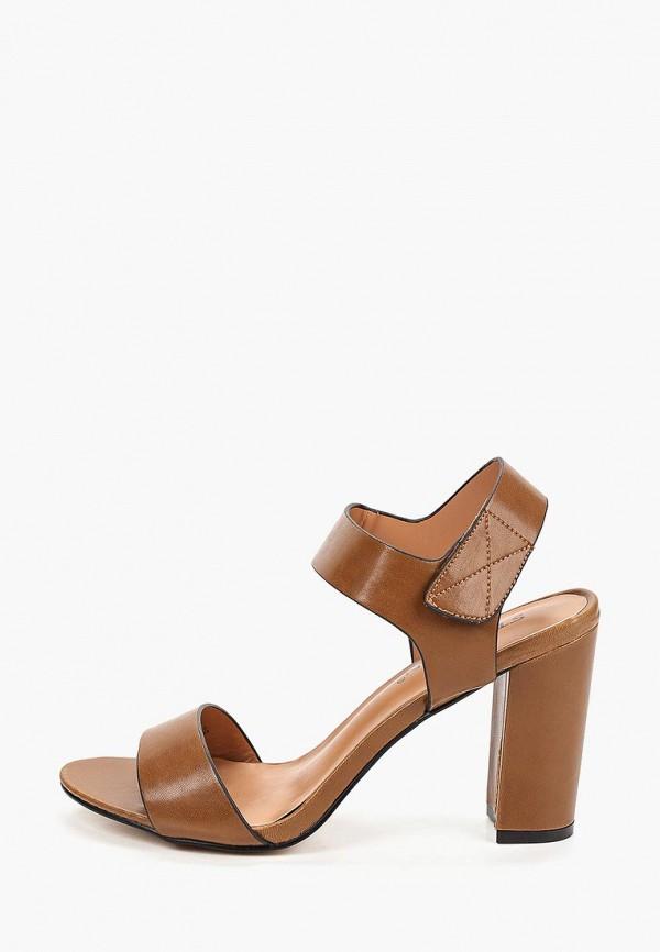 женские босоножки stephan, коричневые