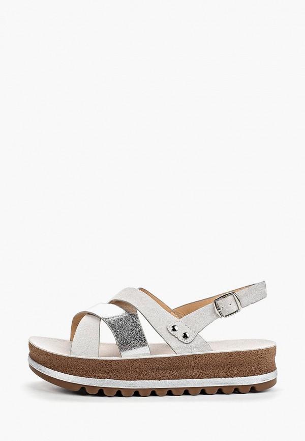 женские сандалии stephan, серые