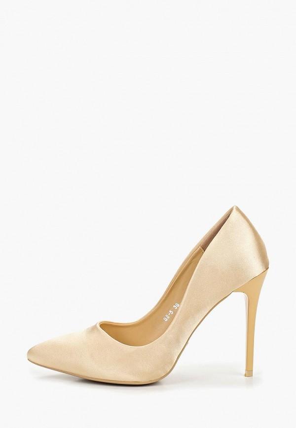 женские туфли stephan, золотые