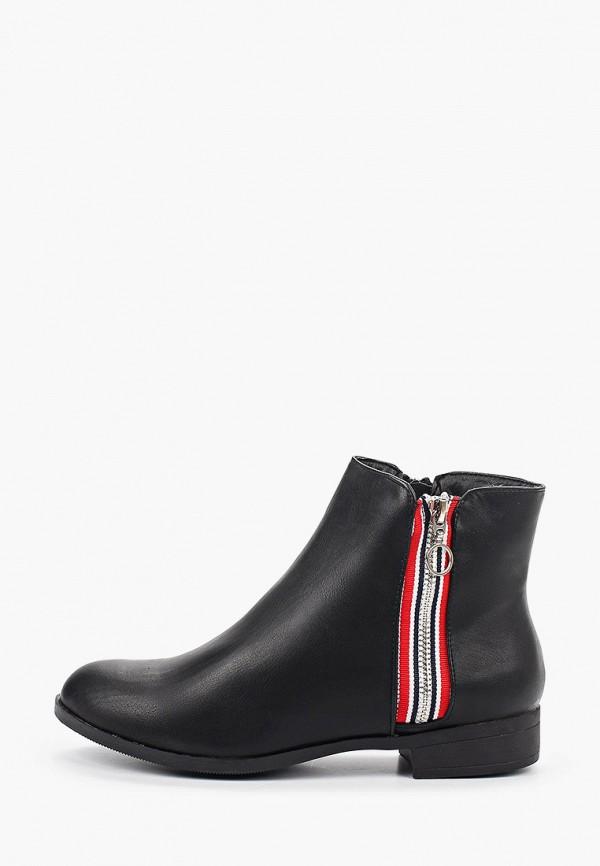женские ботинки stephan, черные