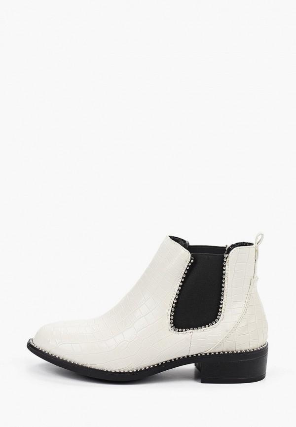женские ботинки stephan, белые