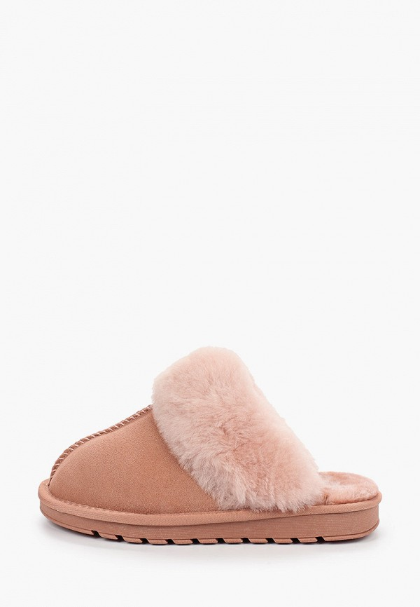 женские тапочки stephan, розовые