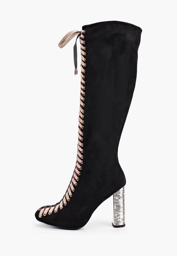 женские сапоги stephan, черные
