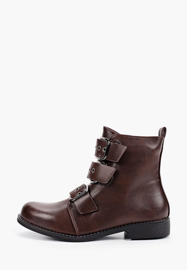 женские ботинки stephan, коричневые