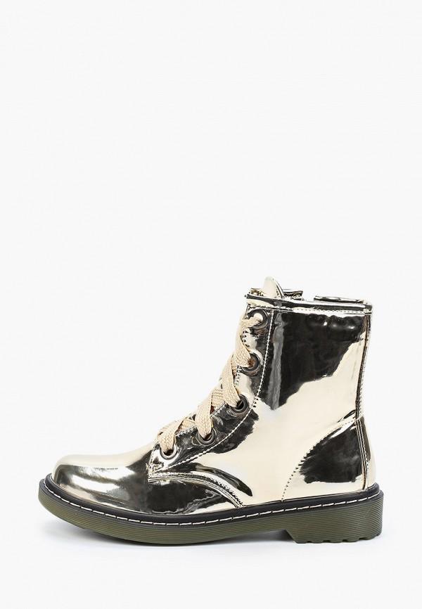 женские ботинки stephan, золотые