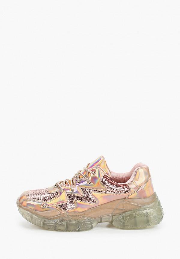 женские кроссовки stephan, розовые