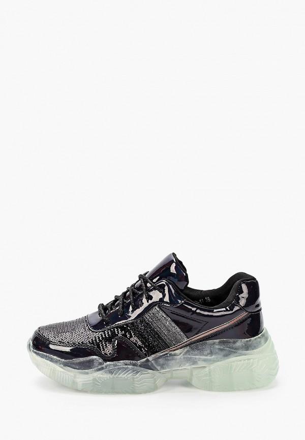 женские кроссовки stephan, черные