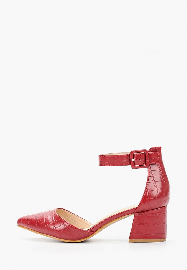 женские туфли stephan, красные