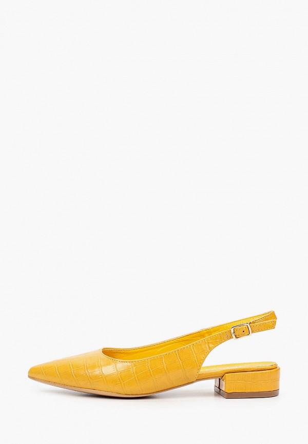 женские туфли stephan, желтые