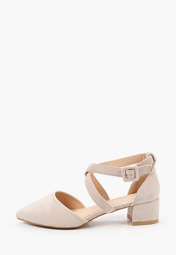 женские туфли stephan, бежевые