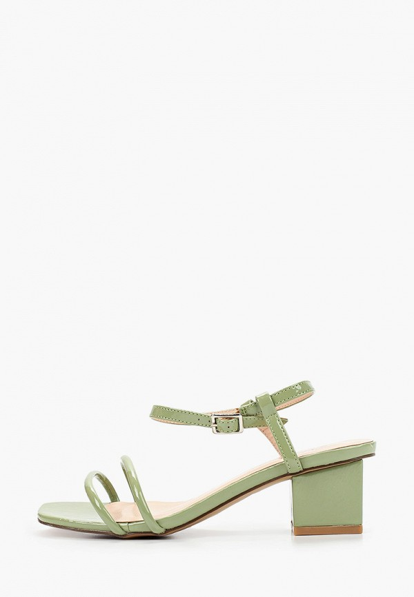 женские босоножки stephan, зеленые