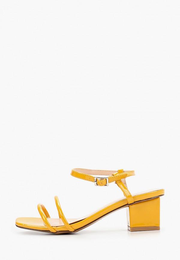 женские босоножки stephan, желтые