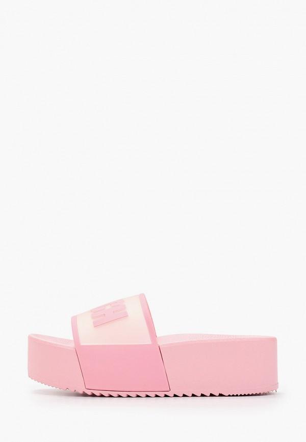 женские сланцы stephan, розовые