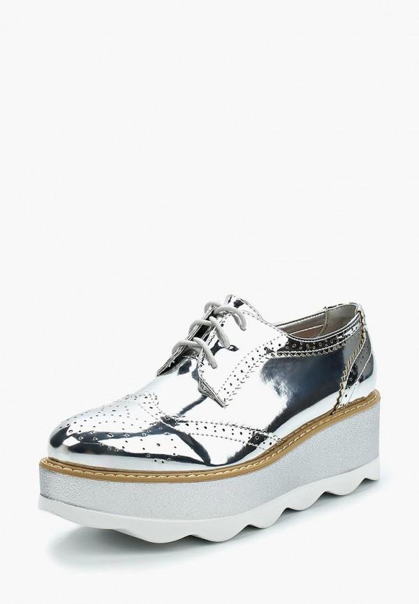 Купить Ботинки Stephan, st031awzqb36, серебряный, Весна-лето 2018