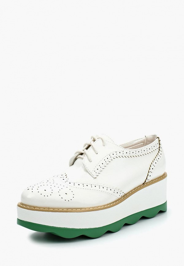 Фото - женские ботинки и полуботинки Stephan белого цвета