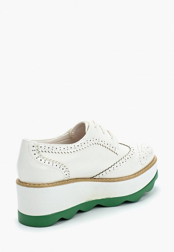 Фото 2 - женские ботинки и полуботинки Stephan белого цвета