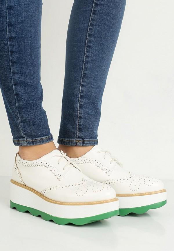 Фото 5 - женские ботинки и полуботинки Stephan белого цвета