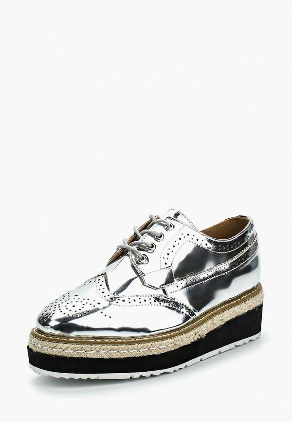 Купить Ботинки Stephan, st031awzqb43, серебряный, Весна-лето 2018