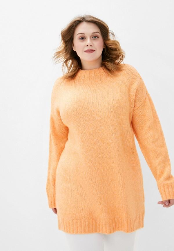женский джемпер studio untold, оранжевый