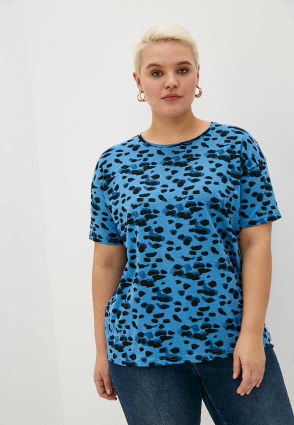 женская футболка studio untold, синяя