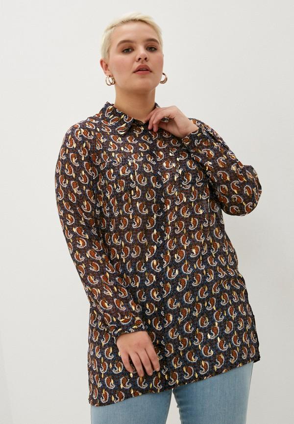 женская блузка studio untold, синяя
