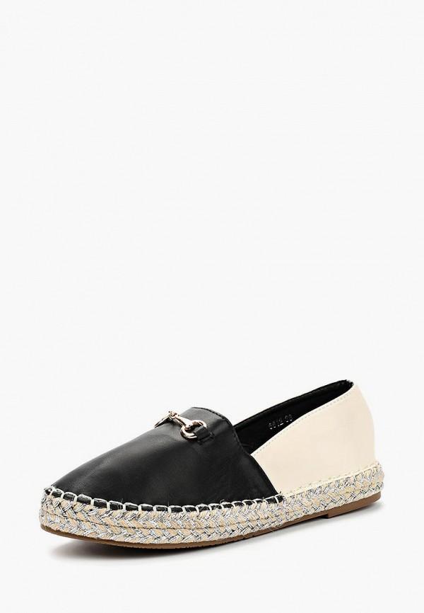 Купить Эспадрильи Style Shoes, ST040AWBAQJ3, черный, Весна-лето 2018