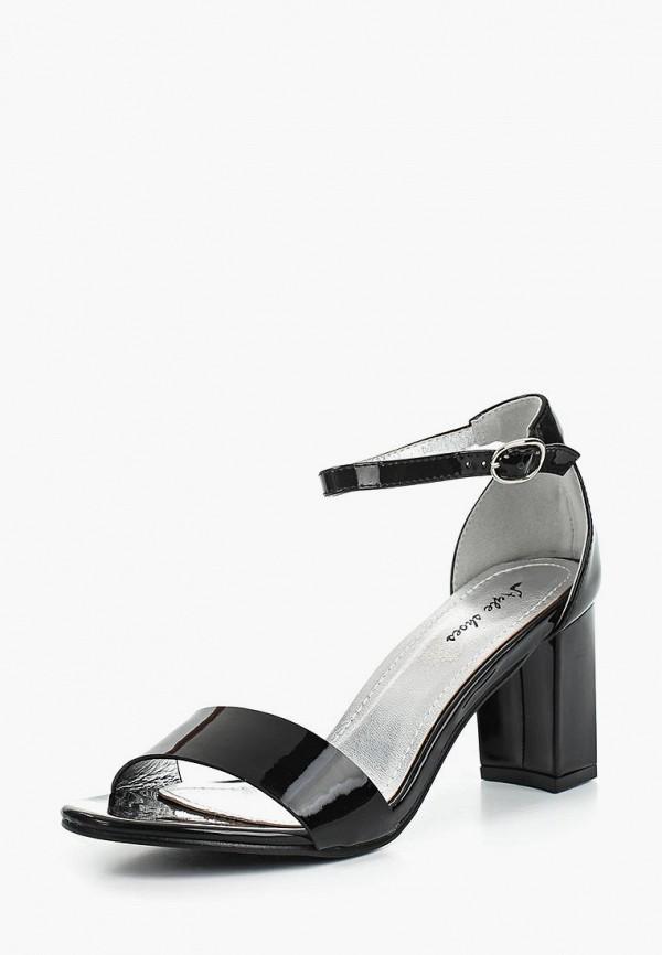 Купить Босоножки Style Shoes, ST040AWBAQK9, черный, Весна-лето 2018
