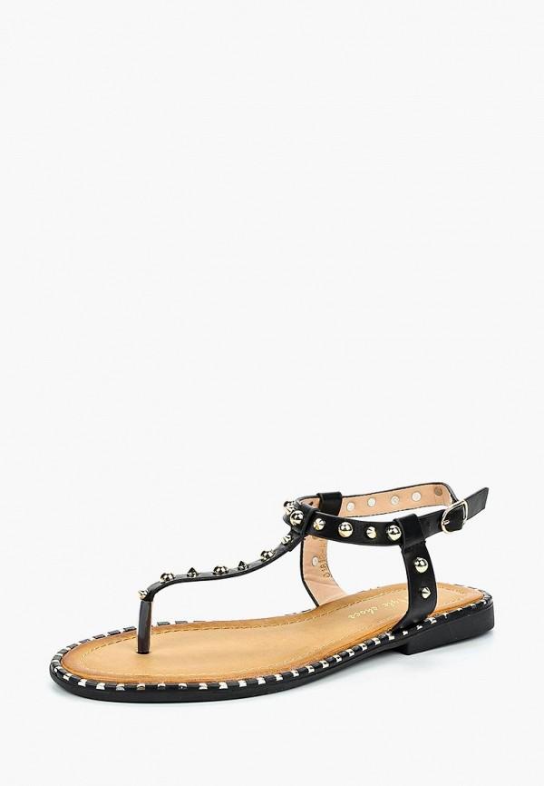 Купить Сандалии Style Shoes, st040awbluf5, черный, Весна-лето 2018