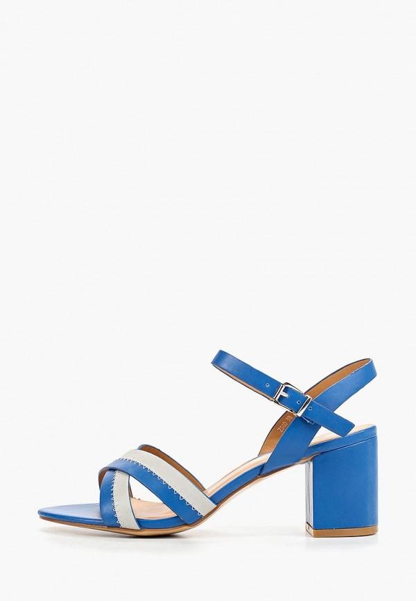 женские босоножки style shoes, синие