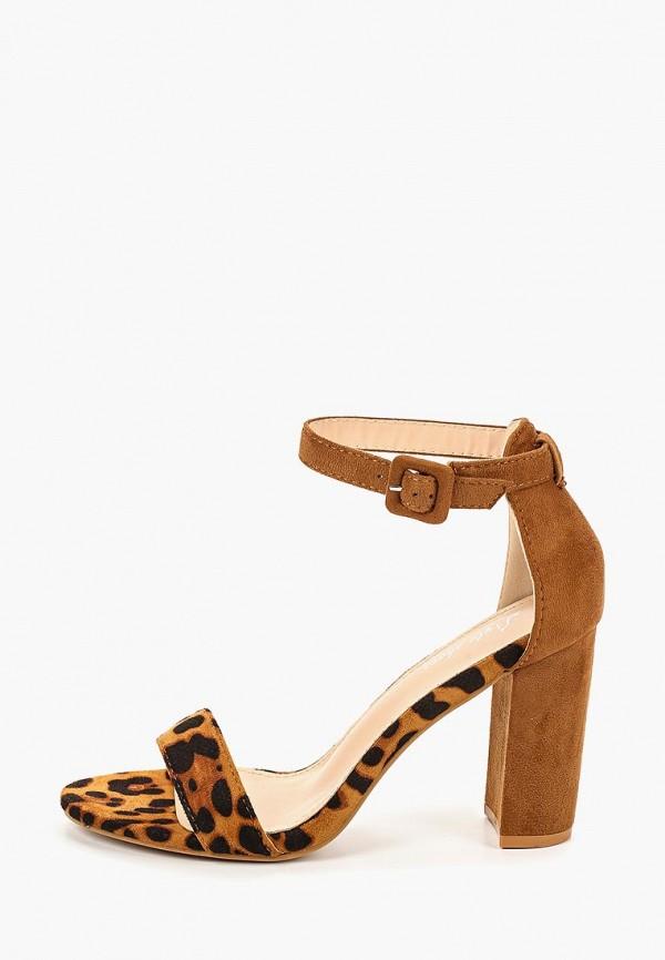 женские босоножки style shoes, коричневые