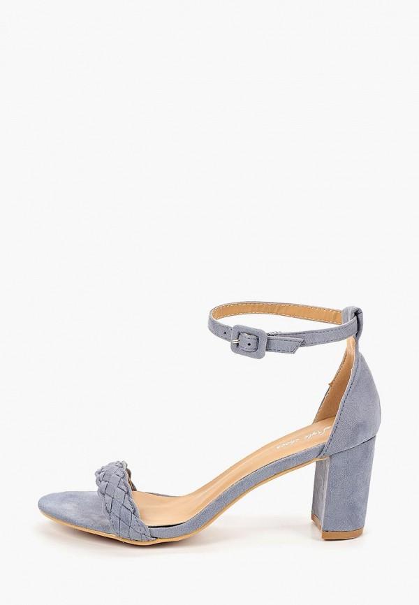 женские босоножки style shoes, голубые