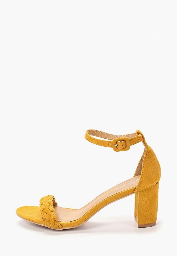 женские босоножки style shoes, желтые