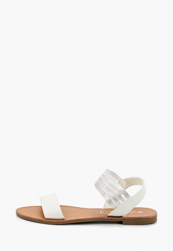 женские сандалии style shoes, белые