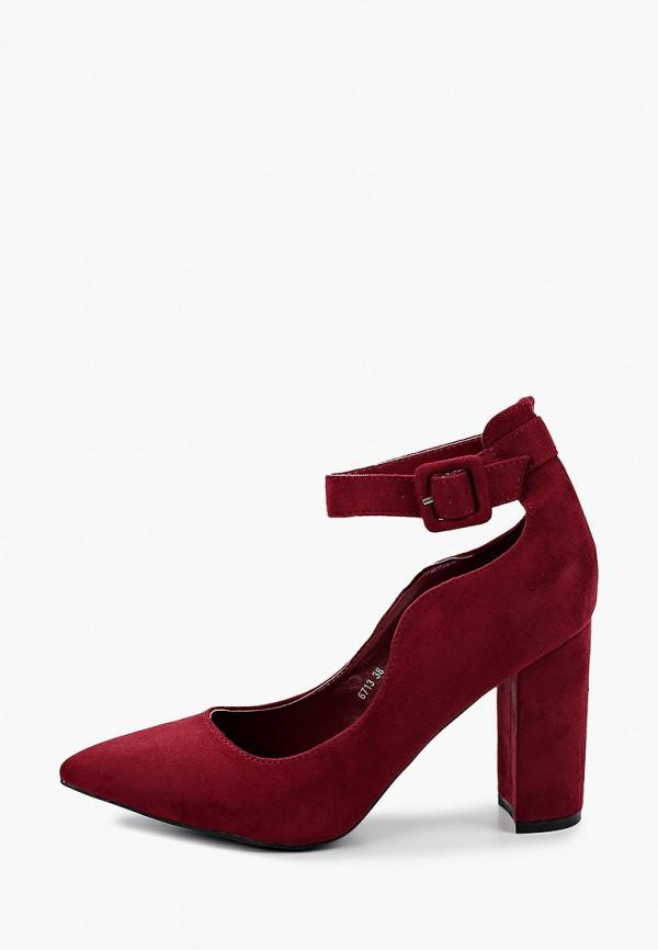 женские туфли style shoes, бордовые