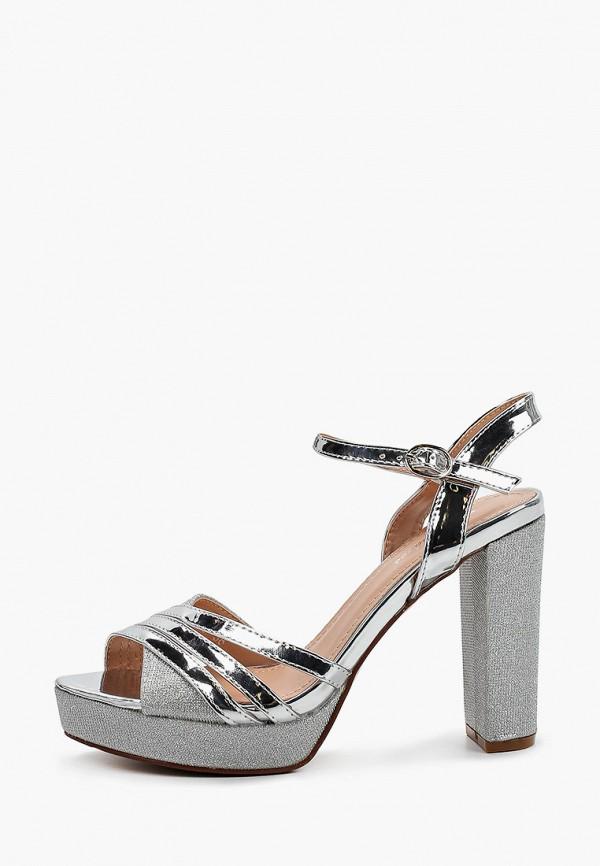 женские босоножки style shoes, серебряные
