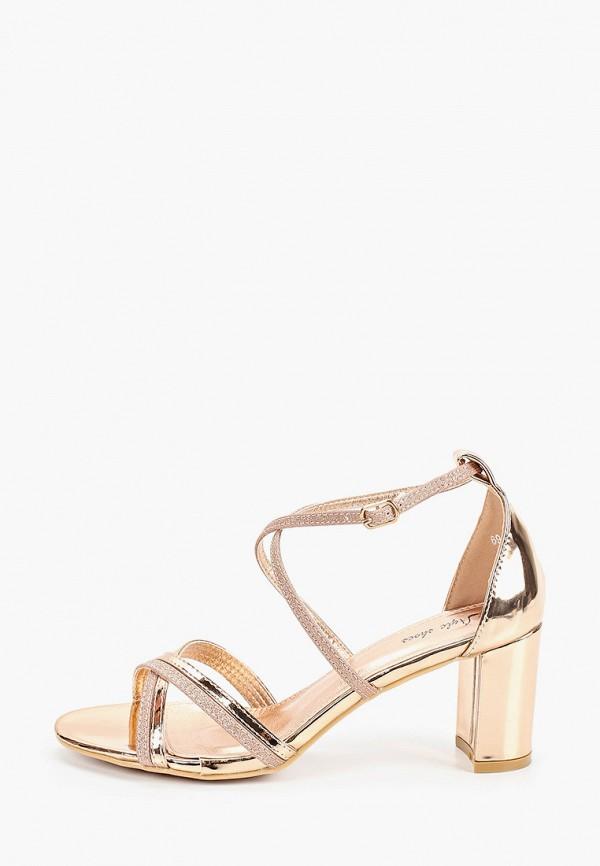женские босоножки style shoes, золотые