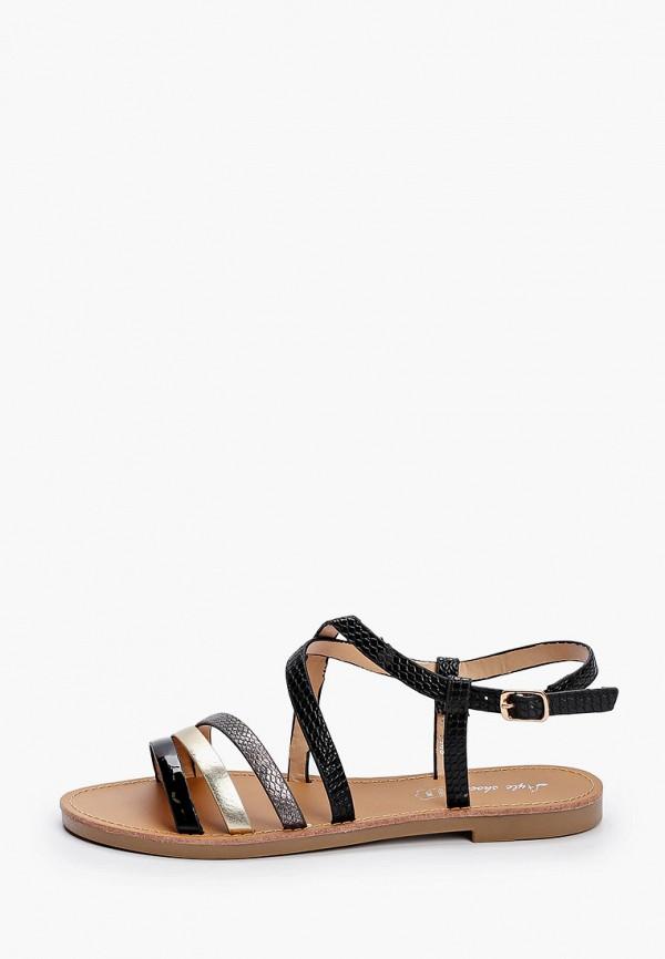 женские сандалии style shoes, черные