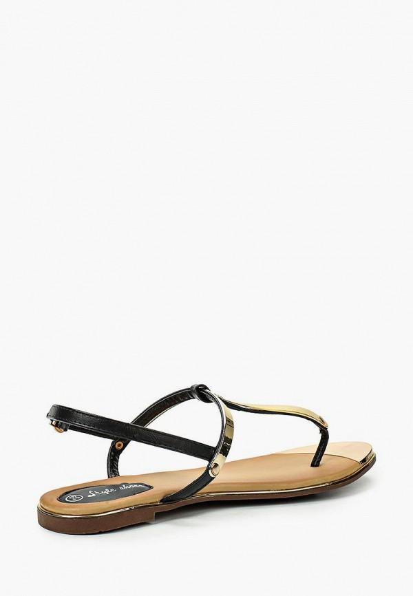Фото 12 - женские сандали Style Shoes черного цвета