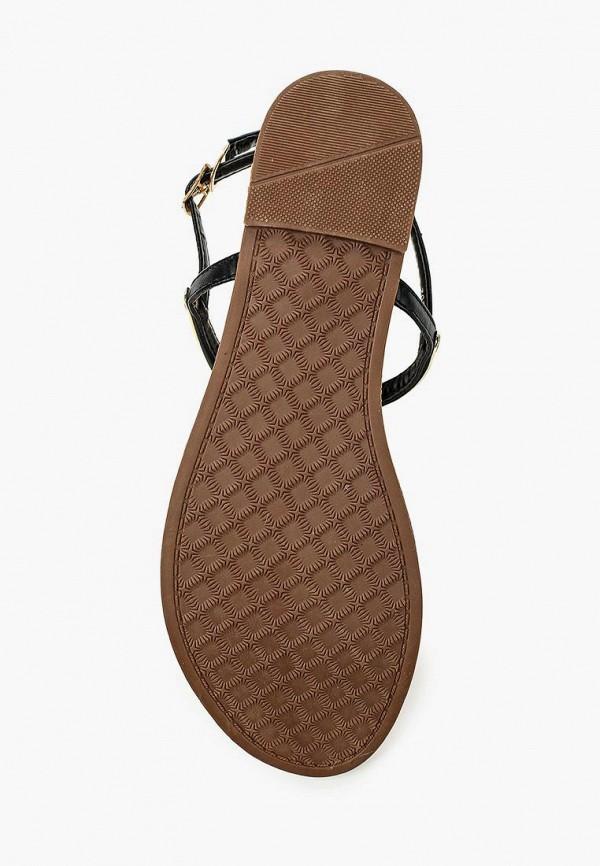 Фото 13 - женские сандали Style Shoes черного цвета
