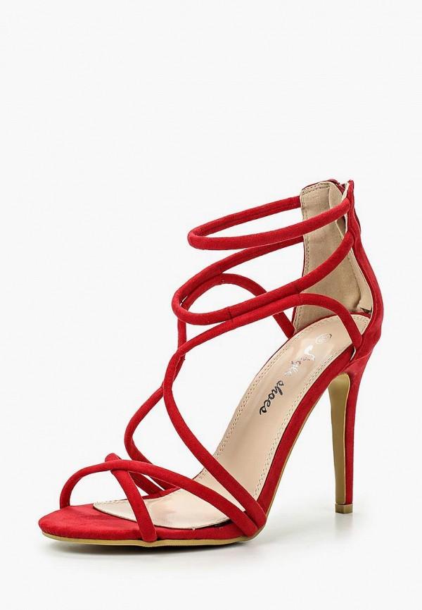 женские босоножки style shoes, красные
