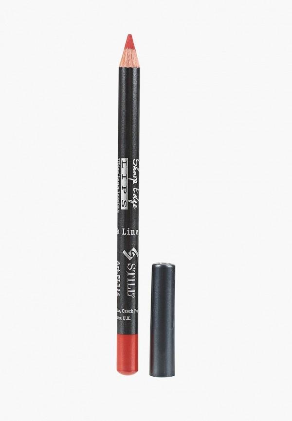 карандаш для губ still, красный