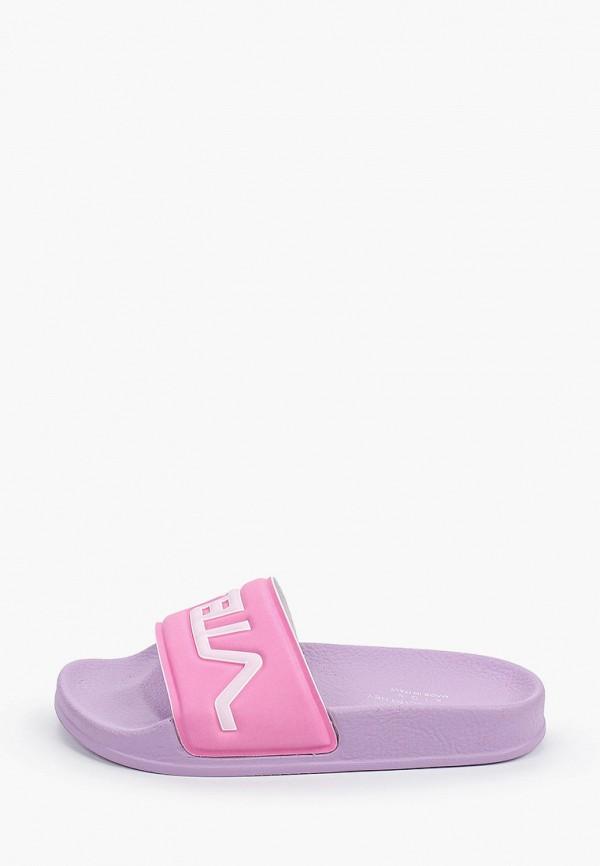 сланцы stella mccartney для девочки, фиолетовые