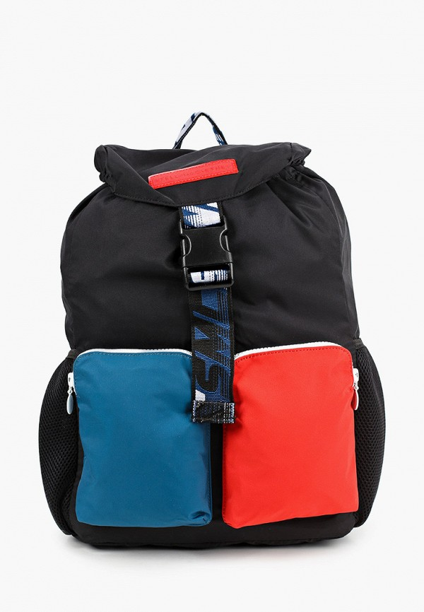 рюкзак stella mccartney для мальчика, черный